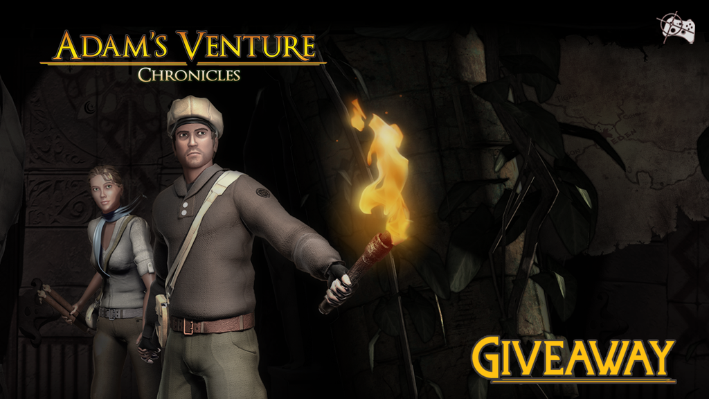 Adam's Venture Chronicles Steam giveaway header - Pass the Controller