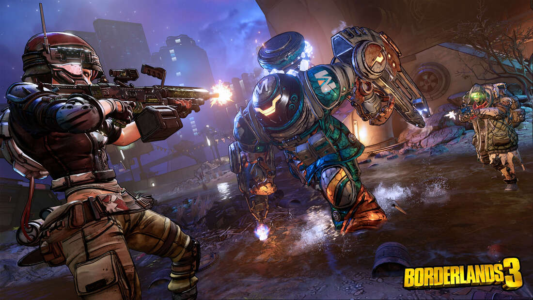 Borderlands 3 review at Pass the Controller - shooting