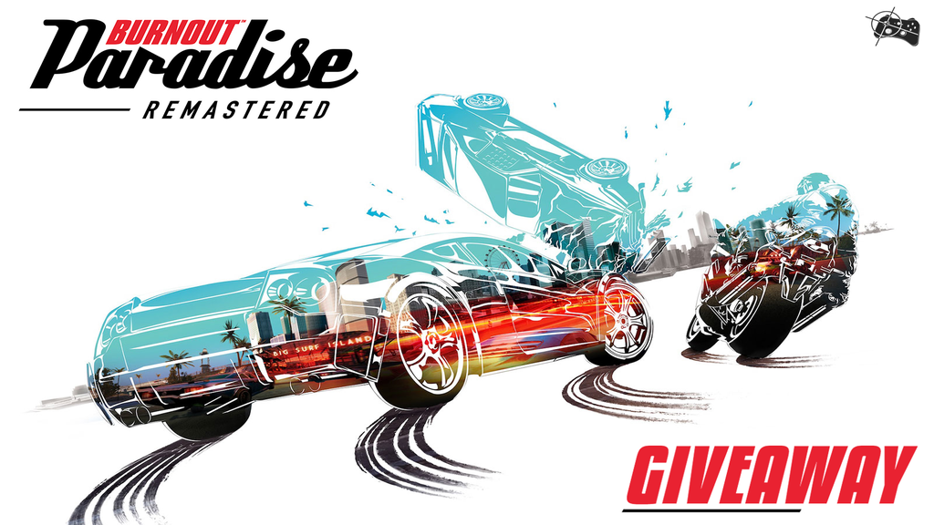 Burnout Paradise Remastered Xbox One giveaway header - Pass the Controller
