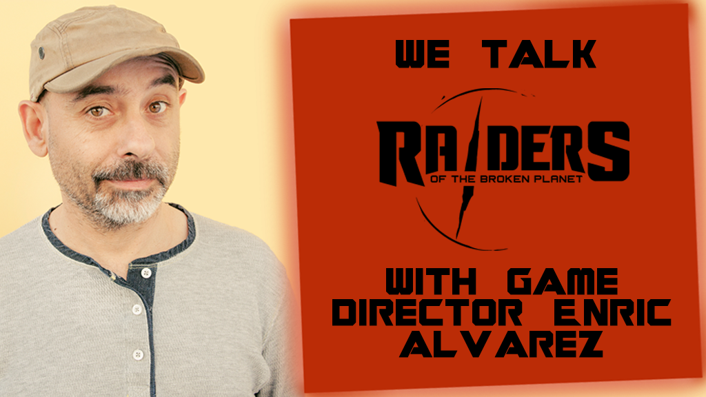 Raiders of the Broken Planet Game Director interview - Pass the Controller