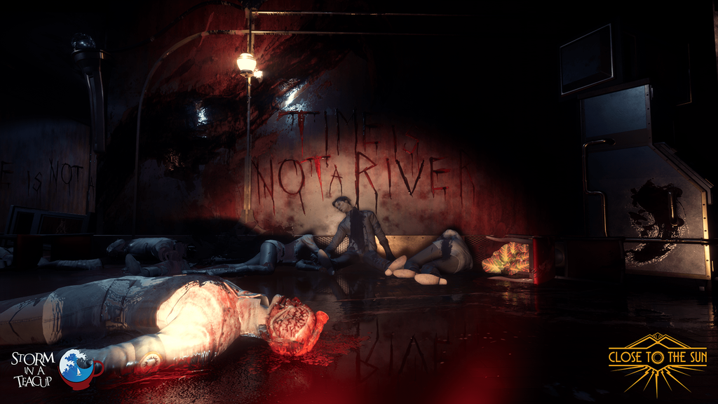 First-person narrative horror, Close to the Sun, announced with a trailer - Pass the Controller