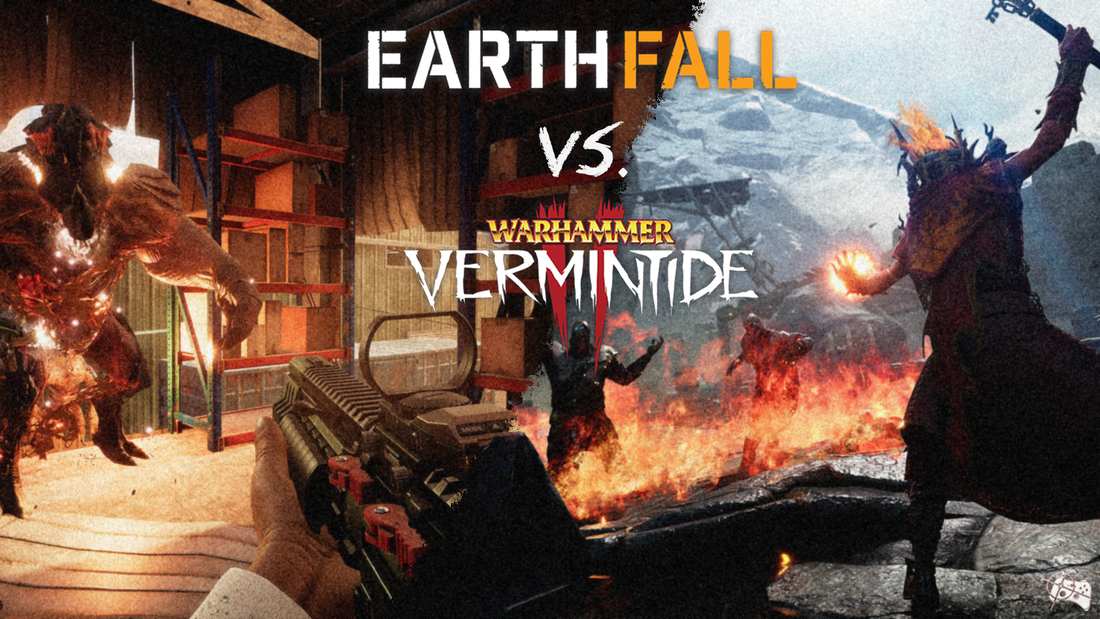 Head to Head | Warhammer: Vermintide II vs. Earthfall - Pass the Controller