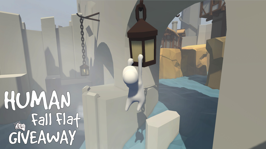 Human Fall Flat Steam giveaway header - Pass the Controller
