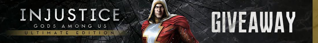 Injustice: Gods Among Us Ultimate Edition Steam giveaway banner - Pass the Controller