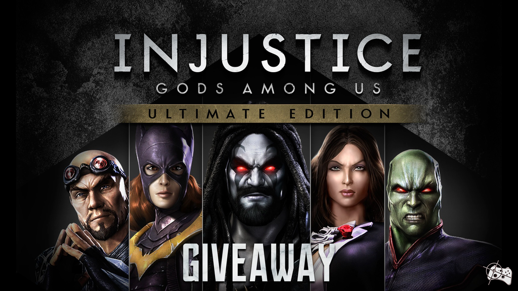 Injustice: Gods Among Us Ultimate Edition Steam giveaway header- Pass the Controller
