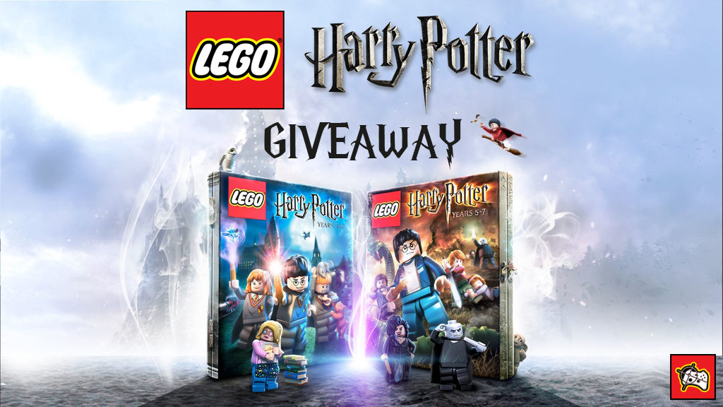 LEGO Harry Potter Years 1-7 Steam giveaway header - Pass the Controller