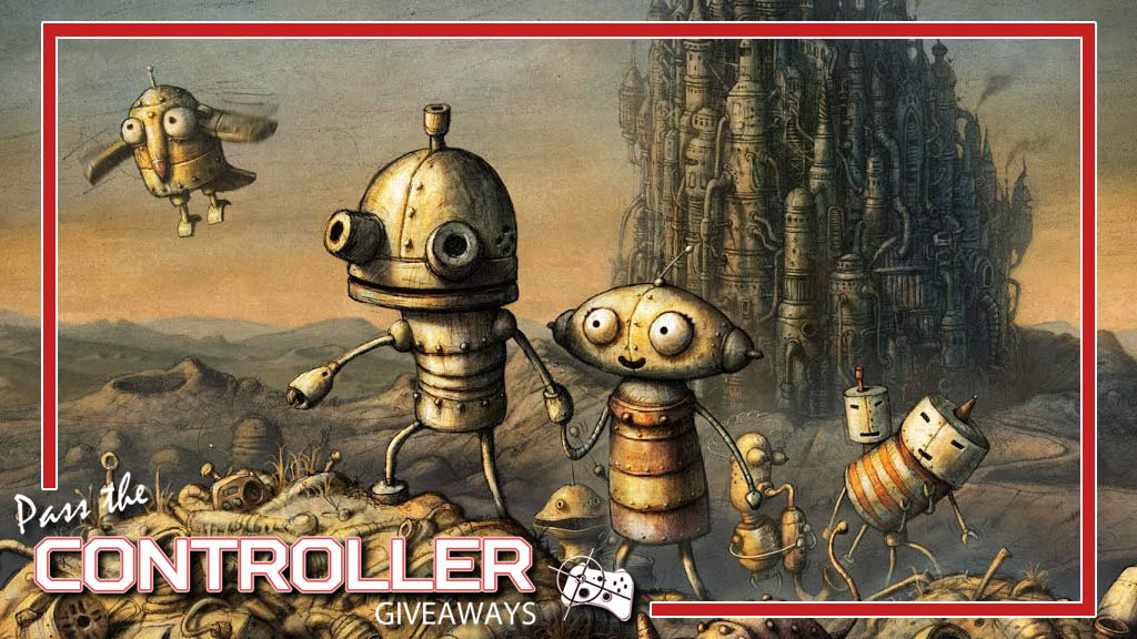 Machinarium Steam giveaway - Pass the Controller