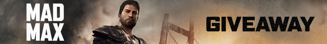 Mad Max Steam giveaway banner - Pass the Controller