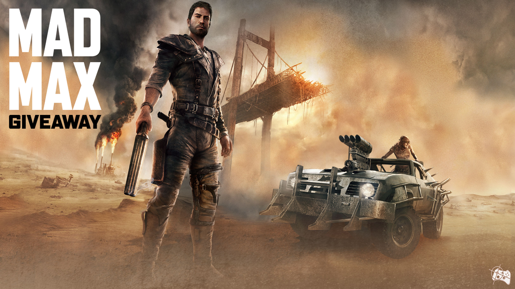Mad Max Steam giveaway header - Pass the Controller