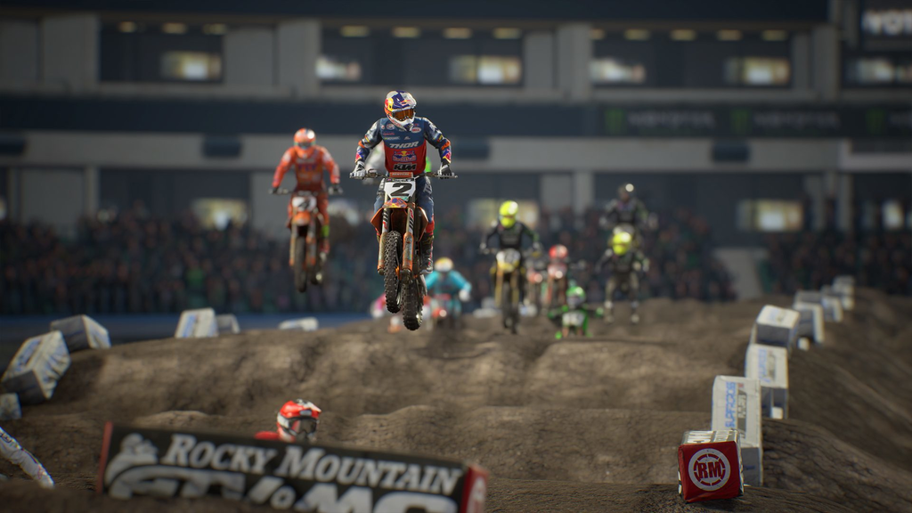Milestone and Feld Entertainment announce Monster Energy Supercross 3 - Pass the Controller