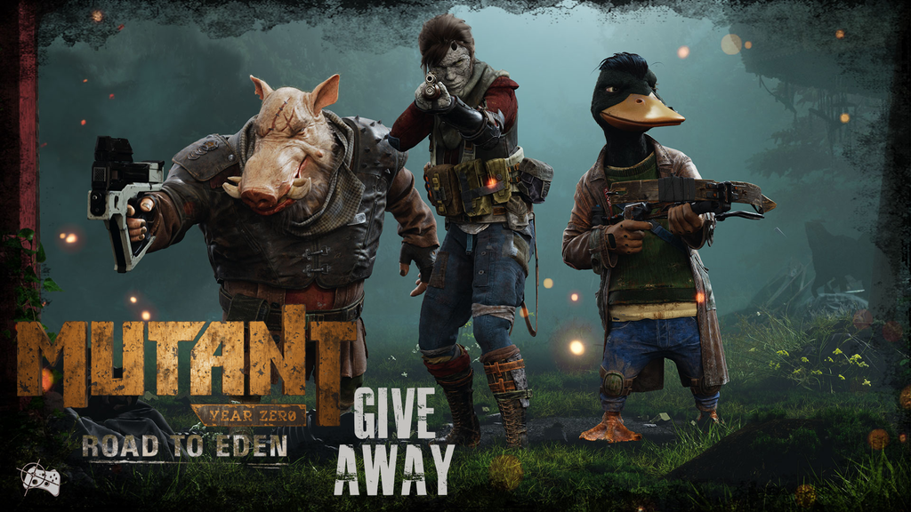 Mutant Year Zero: Road to Eden giveaway header - Pass the Controller