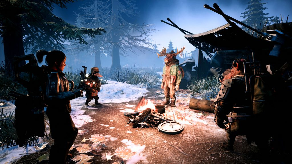 Mutant Year Zero's upcoming expansion introduces Big Khan the fire-breathing moose - Pass the Controller
