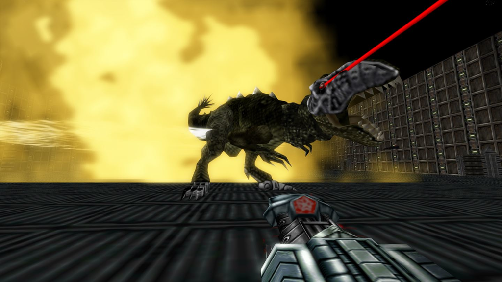 Nightdive Studios are remastering the first two Turok games for Xbox One but their remake of System Shock is currently on hold