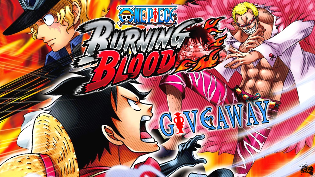 One Piece Burning Blood Steam giveaway header - Pass the Controller