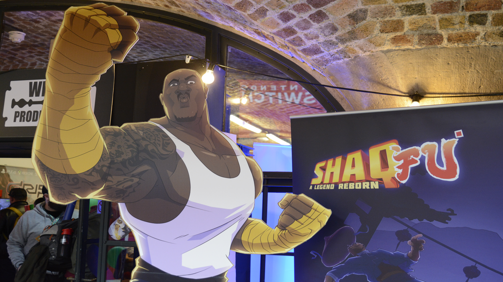 Shaq-Fu is reborn at EGX Rezzed 2018 - Pass the Controller