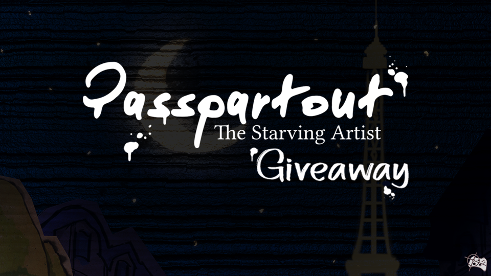 Passpartout: The Starving Artist Steam giveaway header - Pass the Controller