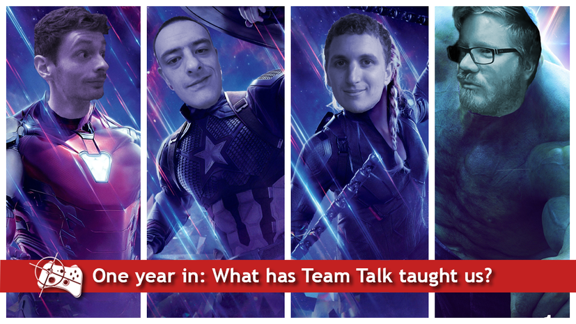 Team Talk | What Team Talk has taught us about each other throughout its first year - Pass the Controller
