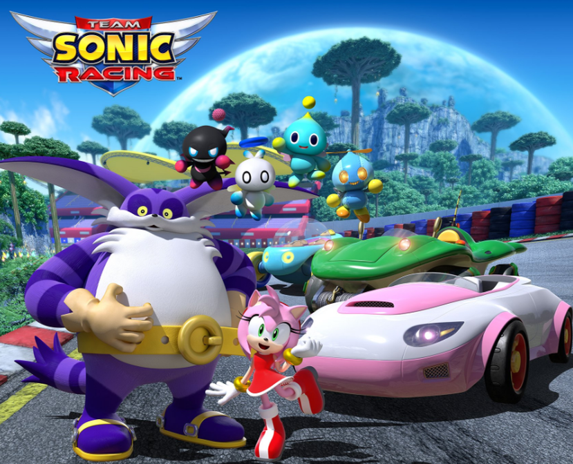 The first Team Sonic Racing spotlight video showcases team mechanics - Pass the Controller