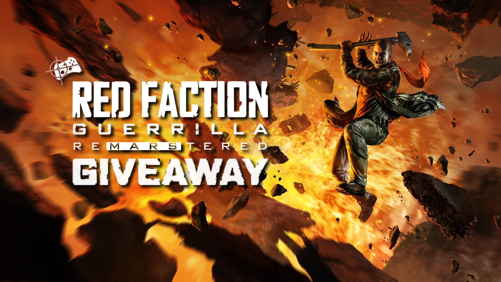 Red Faction Guerrilla Re-Mars-tered Steam giveaway header - Pass the Controller