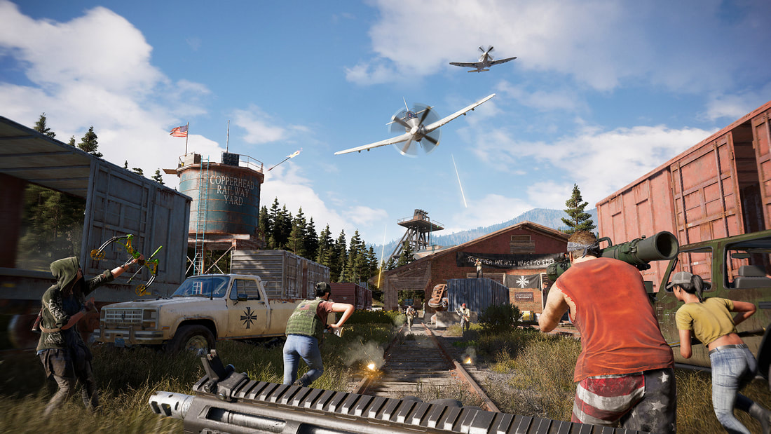 Calling the cavalry - Far Cry 5 review - Pass the Controller