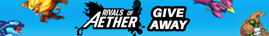 Rivals of Aether Steam giveaway banner - Pass the Controller