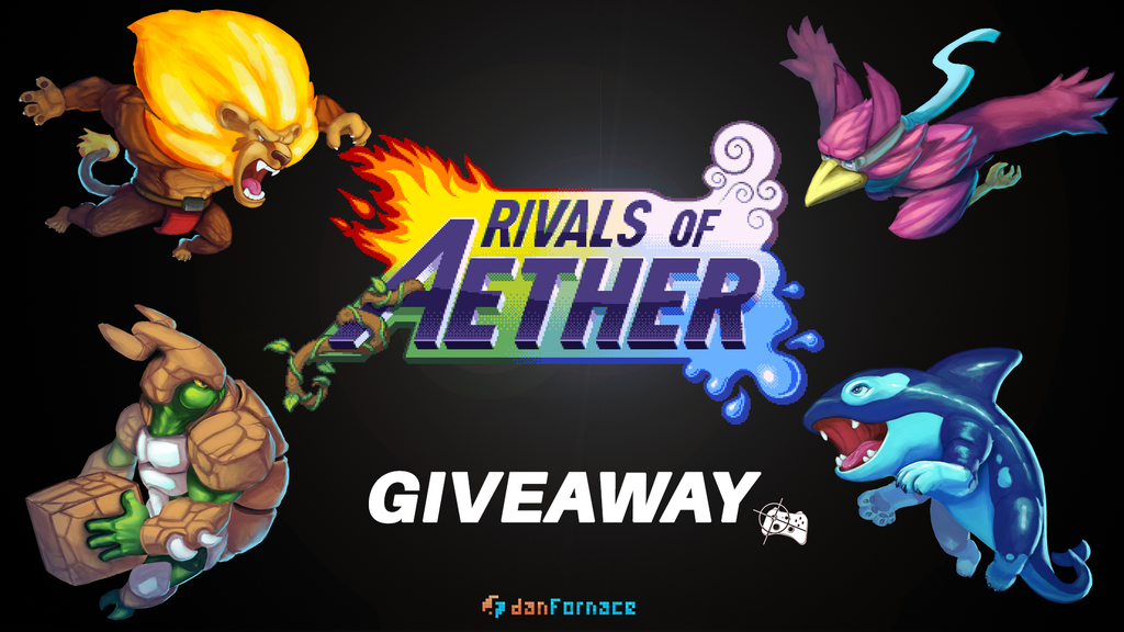 Rivals of Aether Steam giveaway header - Pass the Controller