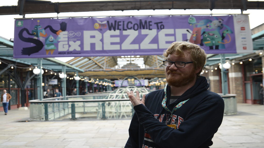 Pass the Controller's Rob welcomes you to EGX Rezzed 2018