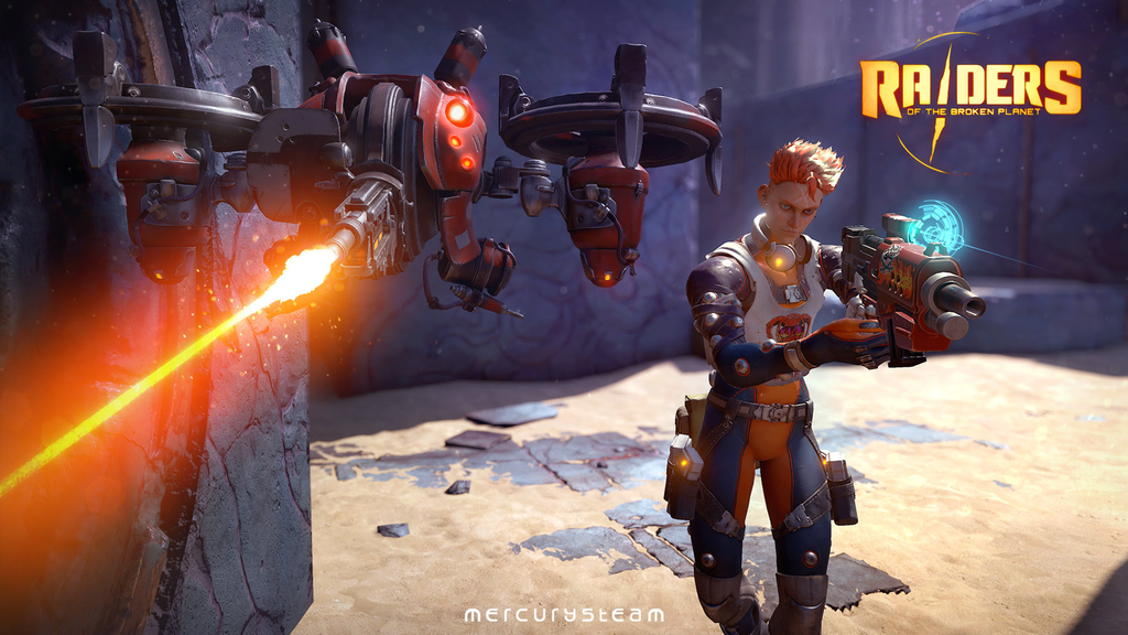 Schneider is the latest playable character in Raiders of the Broken Planet