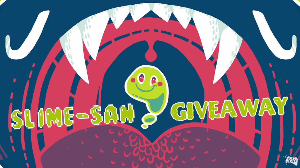 Slime-san Steam giveaway header - Pass the Controller