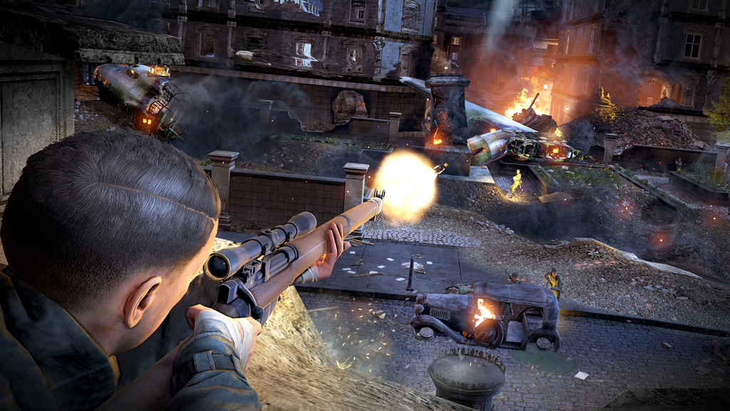 Sniper Elite V2 Remastered out now, launch trailer unveiled - Pass the Controller