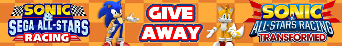Sonic & All-Stars Racing Steam bundle giveaway banner - Pass the Controller