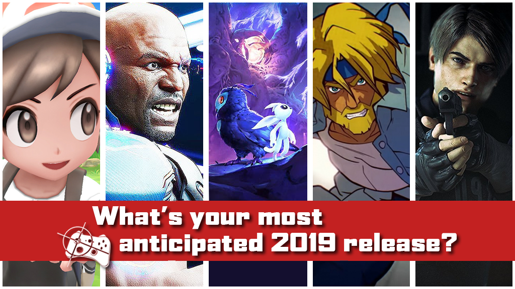 Team Talk | What's your most anticipated game of 2019? - Pass the Controller