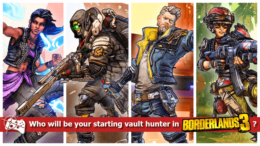 Team Talk | Who will be your starting Vault Hunter in Borderlands 3? - Pass the Controller