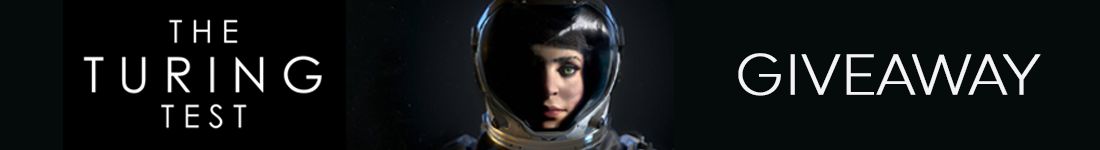 The Turing Test Steam giveaway banner - Pass the Controller