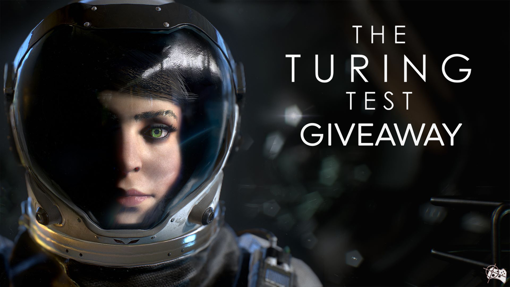 The Turing Test Steam giveaway header - Pass the Controller