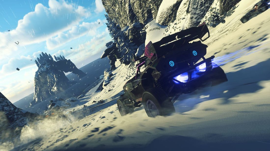 ONRUSH Xbox One review - Pass the Controller